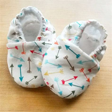 Handmade Toddler Shoes - handmade multicolor arrow baby shoes