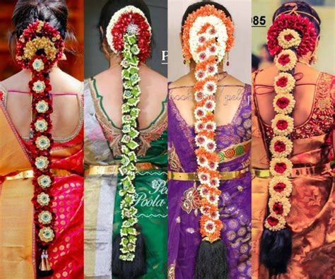 Indian Bridal Hairstyles With Flowers by 40 Beautiful South Indian Wedding Hairstyles Indian