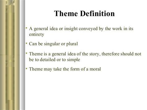 theme definition moral group1 p pt