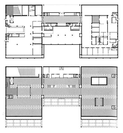 louis kahn floor plans gallery of ad classics kimbell museum louis kahn 19