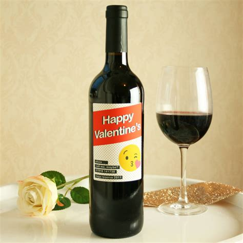 wine bottle emoji personalised emoji wine bottle by bottle bazaar