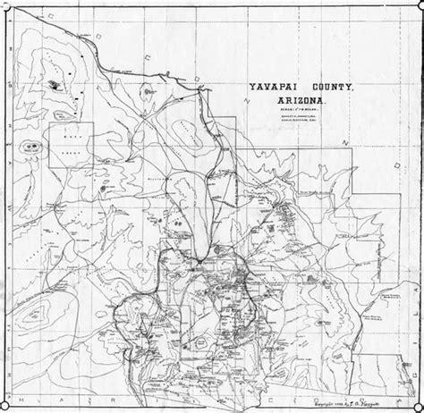 zip code map yavapai county yavapai county road map of arizona book covers