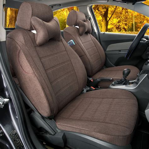 car seat cover or snowsuit custom car seat cover set for volvo c70 linen cloth cover