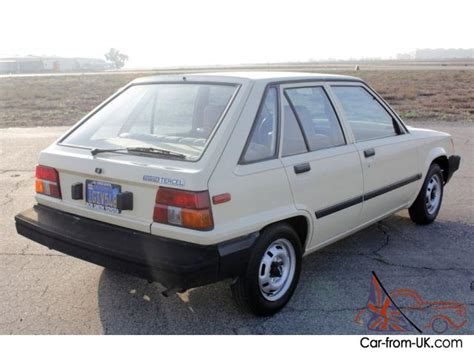 Toyota Tercel For Sale Uk Toyota Tercel 5dr Liftback