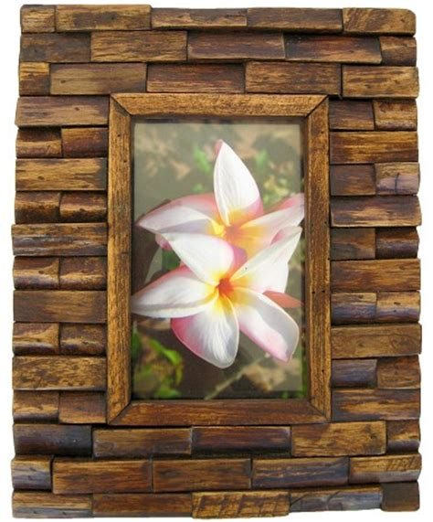 Handmade Wooden Picture Frames - handmade teak wooden picture frames made teakwood