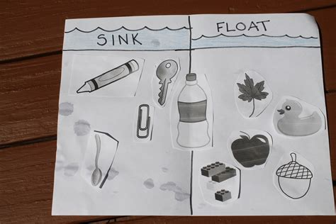 floating and sinking boat experiment sink and float home school