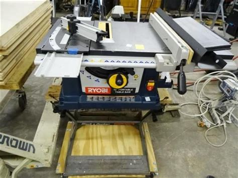 Ryobi 10 Portable Table Saw by Ryobi 10 Quot Portable Table Saw Bay Area Auction Services