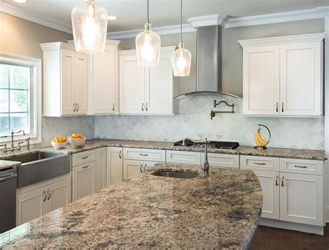 Hanssem Kitchen Cabinets by Fabuwood Vista Blanc Golden Source Tile
