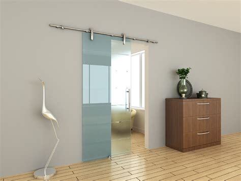 Sliding Kitchen Doors Interior by Modern Barn Door Hardware For Glass Door Contemporary