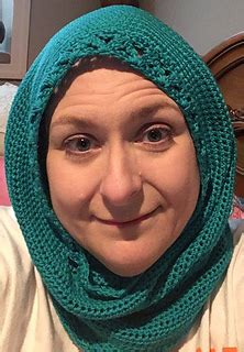 hooded hijab pattern ravelry hooded cowl hoodle or hijab pattern by pamela h