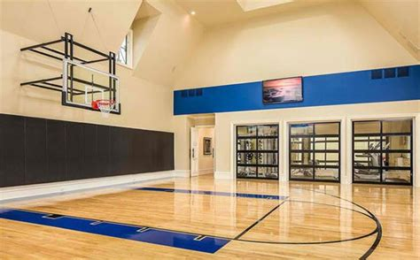 home design lover com 15 ideas for indoor home basketball courts home design lover