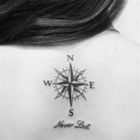 compass tattoo phrase without the words under the compass tattoo piercings