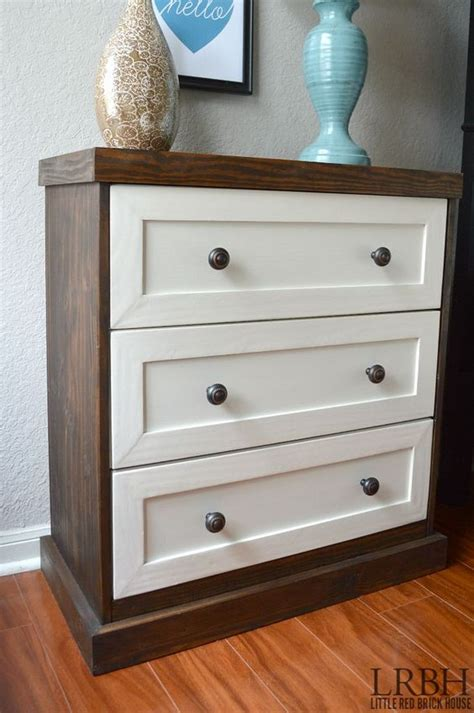 ikea rast two toned ikea rast dresser hack stains tutorials and paint