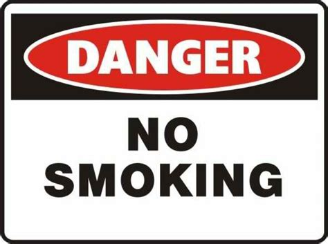 no smoking sign what does it mean pr32 signs of safety danger no smoking sign danger signs
