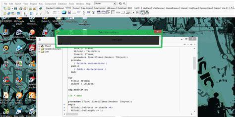 delphi excel tutorial mempercantik tilan teks warna warni di delphi