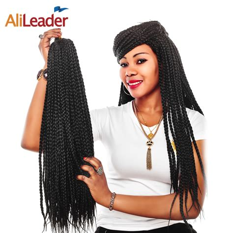 30 weave color box braids alileader 12 30 inch box braid weave hair 12 colors ombre