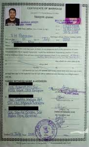 Records Of Marriage License Marriage Certificate Mumbai Images