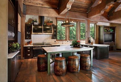log home kitchen design ideas log cabin decor ideas log house home decorations and