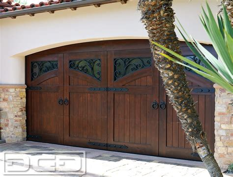 Newport Coast Ca Custom Manufactured French Dynamic Garage Door