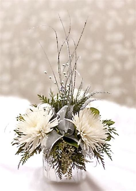 25 best ideas about winter flower arrangements on