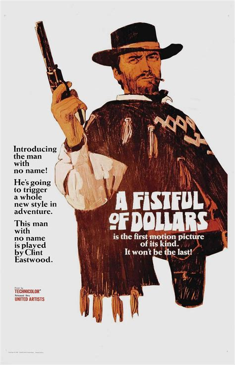 film cowboy clint eastwood subtitle indonesia spaghetti western fistful of dollars poster see best of