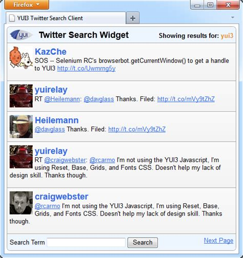 javascript yui tutorial create a scalable widget using yui3 part 1
