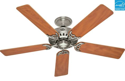Ceiling Fan Setting For Summer by Summer 52 Quot Energy Brushed Nickel Ceiling Fan 25518
