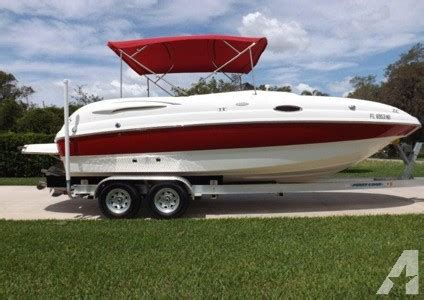 deck boat for sale jacksonville fl 2006 chaparral 232 sunesta for sale in jacksonville