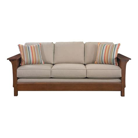 mission style sofa grove park sofa by bassett sale 1 699 mission
