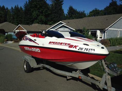 sea doo boat for sale vancouver island 1999 seadoo speedster sk chemainus cowichan