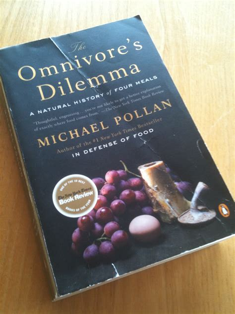 The Omnivore S Dilemma Review Baldwin S Gym Notebook