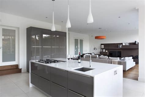 Contemporary White Kitchen Cabinets dillons kitchens irish made kitchens ashbourne meath