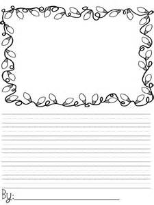 Christmas Writing Paper Templates 25 Best Ideas About Christmas Writing On Pinterest