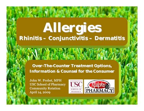 conjunctivitis treatment the counter otc allergies