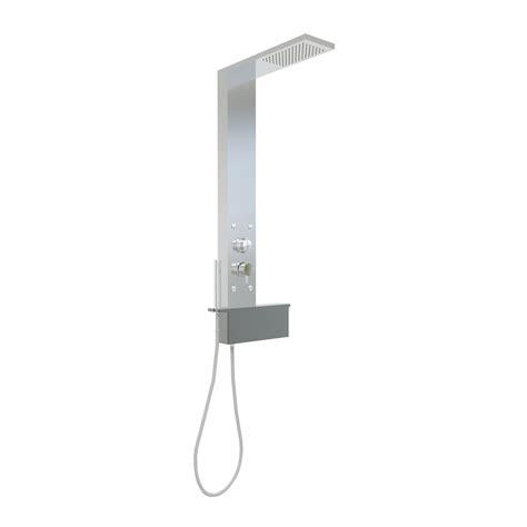 doccia hafro box doccia a composizione scorrevole con colonna e piatto