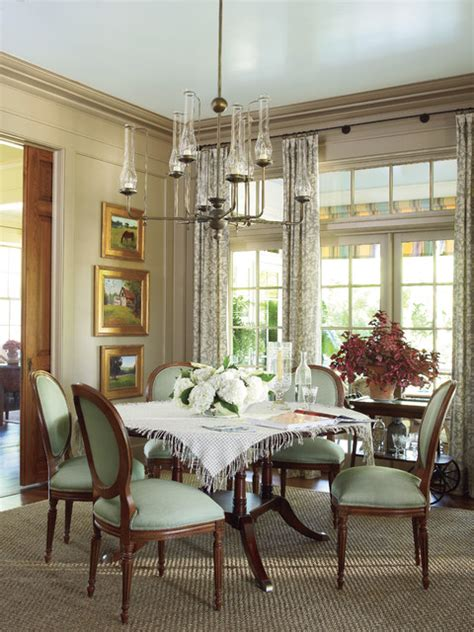 southern dining rooms southern living idea house