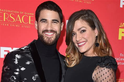 Criss Is Married by Darren Criss Is Engaged To Longtime Page Six