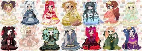 Anime 7 Heavenly Virtues by Seven Deadly Sins And Heavenly Virtues Adoptables By