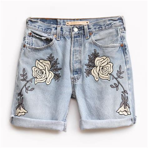 Denim Floral Ula Shorts 316 best images on fashion show fashion