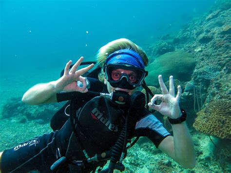 dive instructor of a dive instructor travel and dive all the