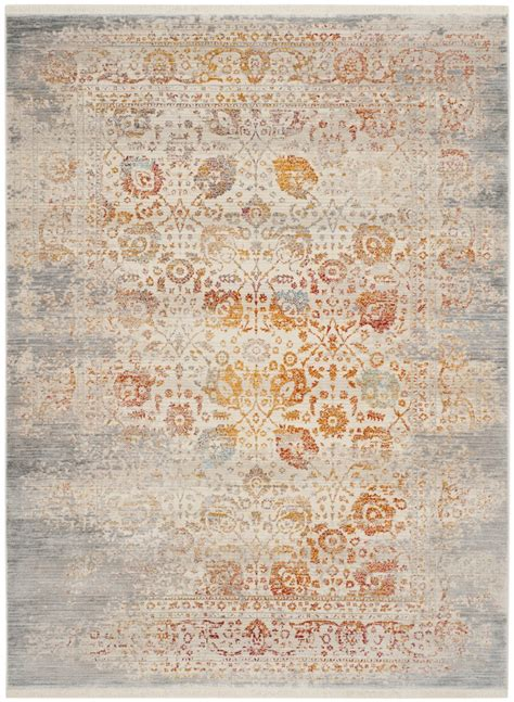 Rug Vtp411c Vintage Persian Area Rugs By Safavieh Orange And Green Area Rugs