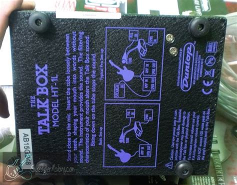 Efek Talk Box shredder malang