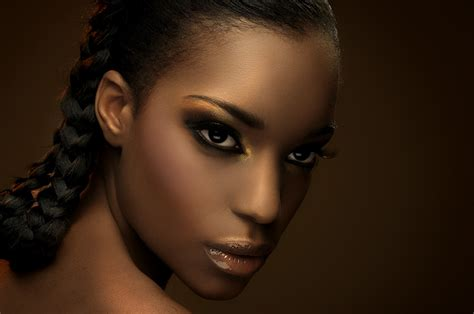 how to apply blush to african american girls eye makeup bronzers for black women makeup brown skin and face