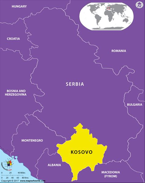 kosovo on the world map is kosovo an independent country answers