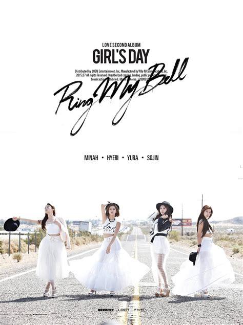s day album info 150701 girl s day vol 2 love album tracklist
