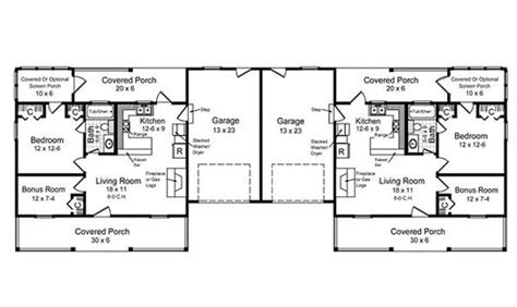 One Story Duplex House Plans by Duplex Floor Plans Single Story 22 Photo Gallery House