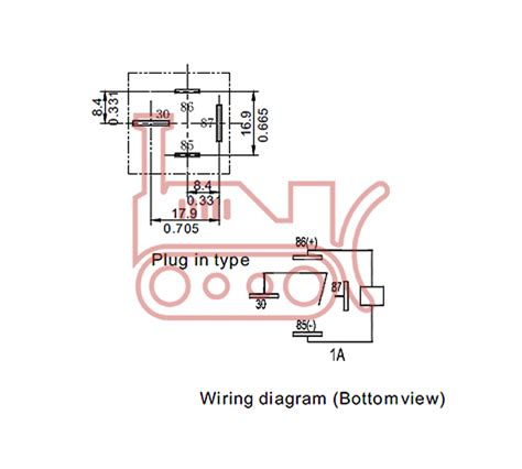 12 volt 4 pin relay wiring diagram wiring diagram and