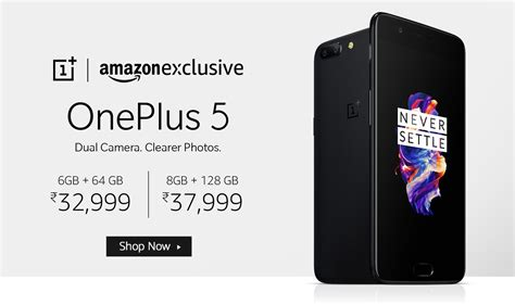 amazon oneplus 5t oneplus 5 oneplus 5 specifications features at amazon in