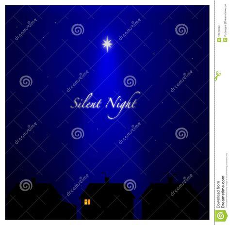 noche silenciosa noche silenciosa imagenes de archivo imagen 11970994