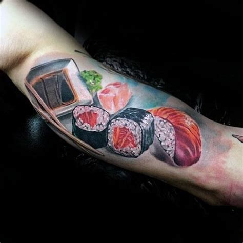 sushi tattoo 50 sushi designs for tattoos for